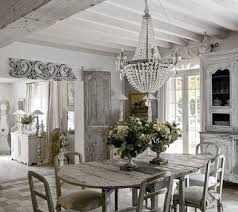 French Rustic Style Dining Room