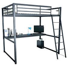 lit mezzanine noir avec bureau lit mezzanine bureau ikea lit ikea metal noir lit mezzanine noir