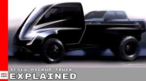 Tesla Pickup Truck Explained - YouTube