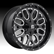 Fuel Titan D588 Gloss Black Milled Custom Truck Wheels Rims - Fuel ... Things To Consider When Shopping For Truck Rims Get Latest Vehicle Predator By Black Rhino Harley Davidson Preowned Ford F150 Wheels Built Hot Monster Jam Grave Digger Shop Cars Niche Chevy Magliner 10 In X 312 Hand Wheel 4ply Pneumatic With Photos Of Tuff Trucks Aftermarket 4x4 Lifted Weld Racing Xt Martin Flat Free 214 58 Off Road And Peak