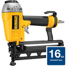 Wood Floor Nailer Gun by Dewalt 16 Gauge Pneumatic 1 In 2 1 2 In Nailer D51257k The
