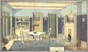 Five 1911 Interiors
