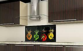 sonstige spritzschutz küchenrückwand fliesenspiegel glas