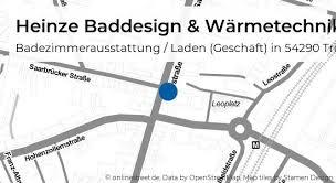 heinze baddesign wärmetechnik saarstraße in trier trier