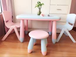 Kindergarten Children's Table And Chair Set Plastic Table Chair Baby ...