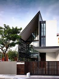 100 Terraced House Designs Unique Corner Terrace House Design In 2019 Facade House