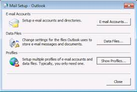 Outlook Manually set up email