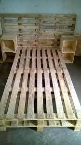 Plans For Pallet Patio Furniture by Best 25 Pallet Bedroom Furniture Ideas On Pinterest Pallet