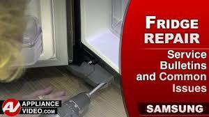 Samsung Refrigerator Leaking Water On Floor by Samsung Rf22k9581sr Family Hub Refrigerator Appliance Video