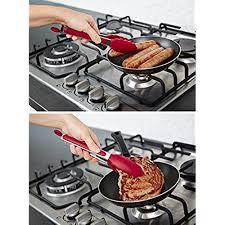 premium silikon küche zange 9zoll antihaft freundlich