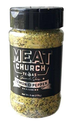 Meat Church Gourmet Series Lemon Pepper Seasoning