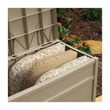 Suncast Resin Deck Box 50 Gallon by 28 Suncast Resin Deck Box 50 Gallon Suncast 50 Gallon Resin