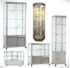 glass display cabinet led lighting cabinets lights ikea ideas