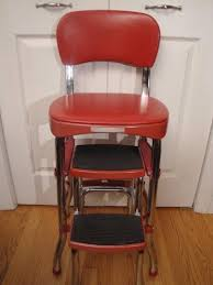 Cosco Step High Chair Stool Chrom Metal Red Vinyl Midcentury ... Image Result For 50s Style Patio Fniture Patio Deck Bar Stool Wikipedia Formerly Modern Vintage Wooden High Chair Cosco Step Stool Chrom Metal Red Vinyl Midcentury 2 X Classic Highchair From The 50s Project Trade Me A Guide To Buying Fniture G Van Os Beautiful And New Upholstered Fauteuil Culemborg Set2 Classic Two Tone Replacement Seats Backs From 1950s Suite Renovation Reupholstery Leather Chairs Happy Baby Sitting On Rug Behind Floor Photograph Black White Photo Interior Of 560s With Nightstand Ding Room Lovable Jenny Lind For