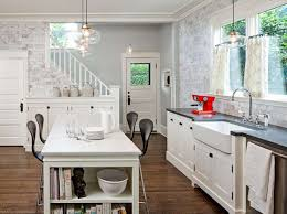 Small White Kitchen Design Ideas by Kitchen Cool Pendant Drum Shape Lighting Kitchen Design Ideas