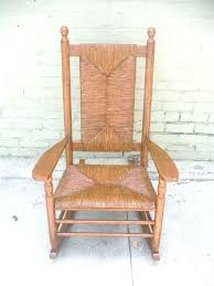 Rustic Porch Rocking Chair From The Adrondacks