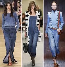 Spring Summer 2015 Fashion Trends Denim