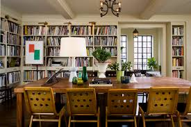 16 Chic Dining Rooms With Libraries