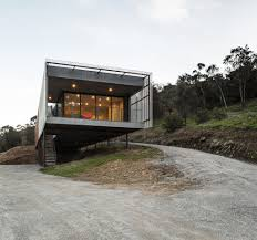 100 Narrow House Designs A Long Nestled Into The Side Of Mount Macedon