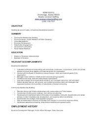 Resume Samples For Business Development Officer U2013 Thaihearttalk