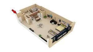100 Attic Apartment Floor Plans 22 Simple Studio