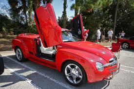 Chevrolet SSR (Super Sport Roadster) With Lambo Doors   Custom / Hot ...