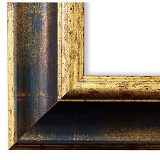 bilderrahmen acta weiss gold 24x30 28x35 30x30 30x40 30x45