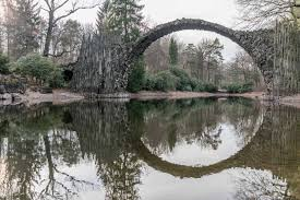 100 Water Bridge Germany The Amazing Circle Bridge In Known As Rakotzbrcke