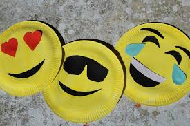 Kids Emoji Craft Paper Plates Easy