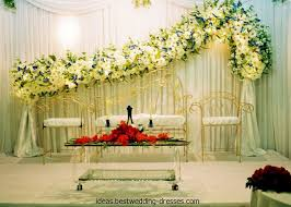 Inspirational Wedding Stage Decoration With Flowers 32 In Table Ideas