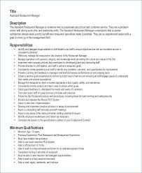 Catering Resume Kitchen Manager Sales Examples