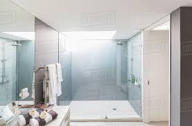 100 Modern Luxury Design Luxury Home Showcase Interior Bathroom With Shower Stock