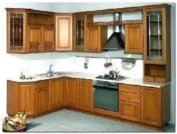 porte de cuisine en bois brut cuisine en bois massif cocktail scandinave meuble de newsindo co