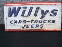 100 Craigslist Phoenix Cars Trucks Sale 1940s 50s Dealer Sign Az SOLD EWillys