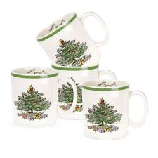 Spode Christmas Tree Highball Glasses by Spode Christmas Tree Santa Figural Ornament Spode Usa