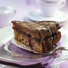 feine schokoladen nuss torte