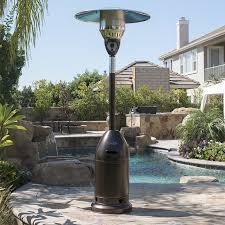 Garden Sun Patio Heater Thermocouple by Belleze Bullet 48 000 Btu Propane Patio Heater U0026 Reviews Wayfair
