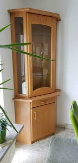 eckvitrine vitrine schrank eckschrank esszimmer wohnzimmer