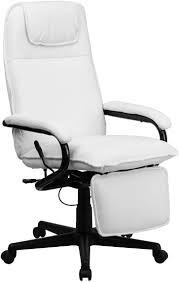 Offex Of-BT-70172-WH-GG High Back Leather Executive Reclining Office Chair,  White Forget Standing Desks Are You Ready To Lie Down And Work Ekolsund Recliner Gunnared Dark Grey Buy Now Artiss Massage Office Chair Gaming Computer Chairs Khaki Executive Adjustable Recling With Incremental Footrest 1000 Images About Fniture On Pinterest Best In 20 The Gadget Reviews Amazoncom Chairsoffce Offce 7 With 2019 Review 10 1 Model Desk Lafer Josh Offex Ofbt70172whgg High Back Leather White