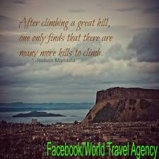 Travel Inspirational Nelson Mandela Quotes
