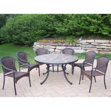 Meijer Patio Furniture Covers by 37 Shocking 7 Piece Patio Set Image Design Walmart 7 Piece Patio