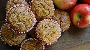 muffins ohne zucker rezept mit apfel und walnuss