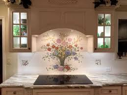 Accent Tiles For Kitchen Backsplash S Bouquet Kitchen Backsplash Tile Mural
