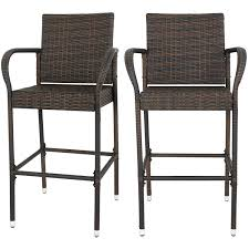 Amazon.com: F2C Pack Of 2 Brown Wicker Barstool All Weather Dining ... Klaussner Outdoor Mesa W7502 Cdr Set Of Two Ding Room Polywood Classic Green Adirondack Allweather Plastic Amazoncom Luckyermore Rattan Chairs 4 Patio Gommaire Sienna Teak Chair Luxury Living Trellis Weave All Weather Wicker Terrain Woodard South Beach S604501 Fniture Ethan Allen West Way Vineyard Decators Polywood Curved Back Nofade Mega Walker Edison Grey 2 At