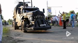 Viral Video UK: Real Life Mad Max Truck - YouTube Cloud Mad Max Truck By Cloudochan On Deviantart Fury Road In Lego People Eater Fuel From Movie Road 3d Model Addon Pack Gta5modscom Game 2015 Scrapulance Pickup Truck Test Drive Youtube If Had A Gmc This Would Be It Skin For Peterbilt 579 V10 Ats Mods American Pin Trab Sampson Maxing Pinterest Max Kenworth W900 Simulator Mod Night Wolves Wows Lugansk Residents Sputnik Teslas Protype Semi Has A Autopilot Mode Better Angle Of That Mega From Mad Max Fury Road And Its