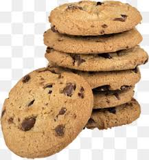 Baked chocolate chip cookies Chocolate Cookies Baking PNG Image