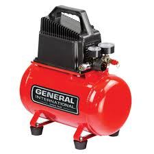 General International 3 Gal 1 3 HP Oil Free Portable Electric Hot