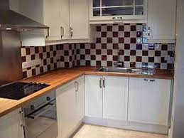 kitchen with ceramic tile wall smith design cool wall tiles