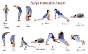 Surya Namaskar Asanas For Weight Loss
