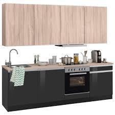 held möbel küchenzeile ohio mit e geräten breite 240 cm
